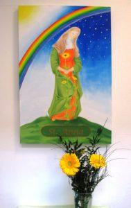 Einweihung unseres St. Anna Bildes