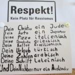 Respekt / ein Zeichen für Demokratie und Vielfalt